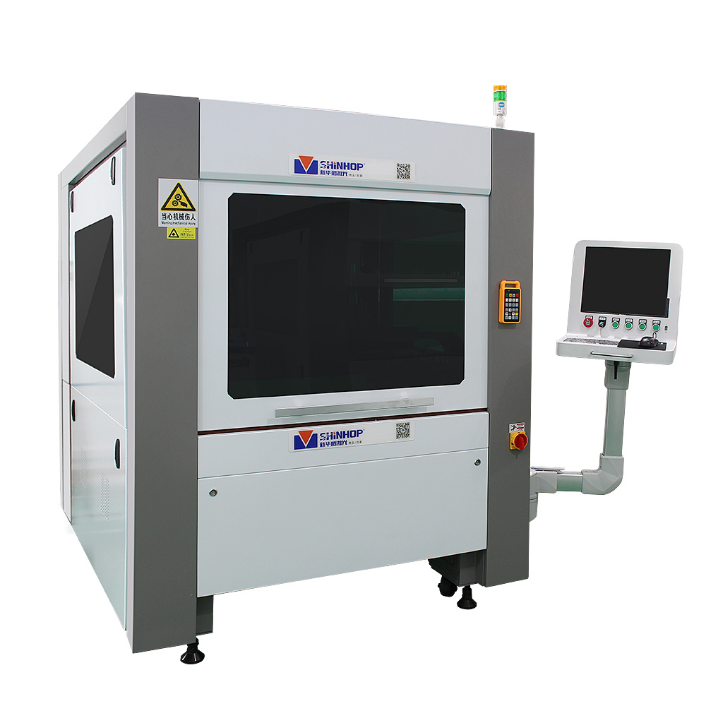 Automatic CNC CO2 Glass Plastic Fiber Laser Cutting Machine