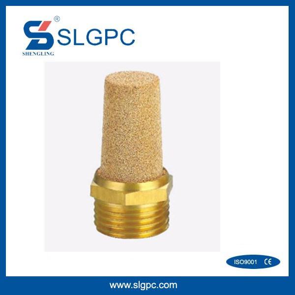 Brass Pneumatic Muffler Silencer B Type BSL