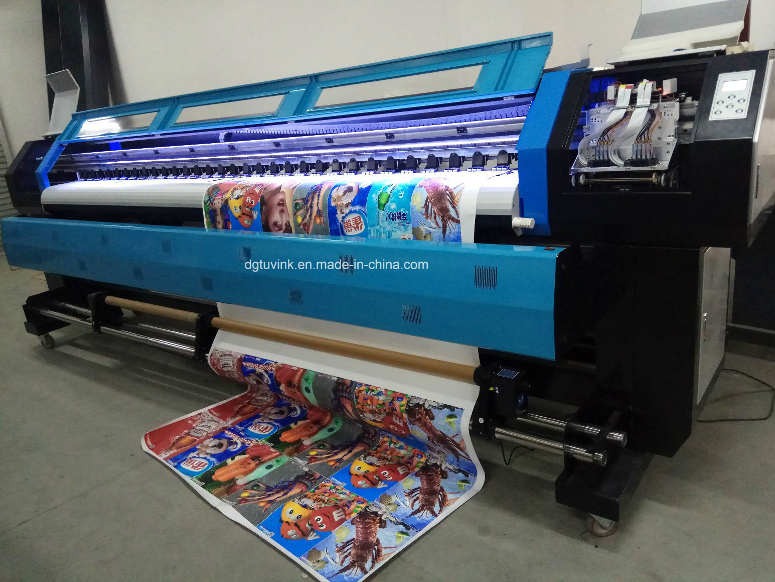 Free Shipping Discount Large Format Printer 3.2m Eco Solvent Printer
