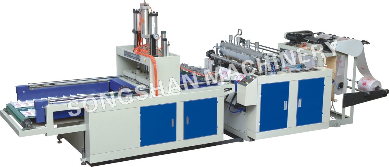 High Speed Hot Cutting Bag Machine (SSH-1000D)