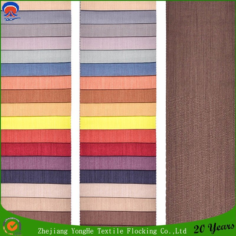 Hot 2017 Hotel Window Curtain Fabric Woven Polyester Fr Blackout Curtain Fabric