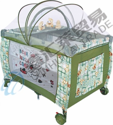 Second Layer Mosquito Net with Zipper Baby Playpen