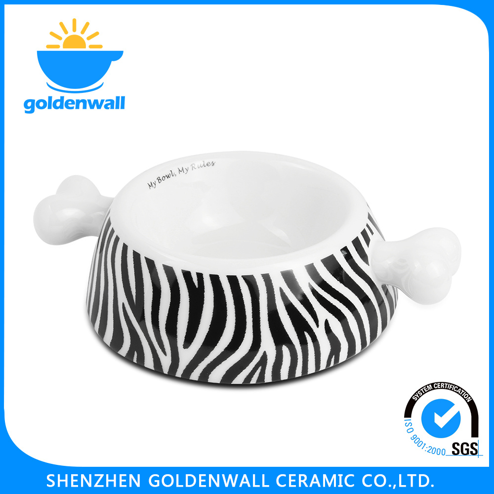 Customized Eco-Friendly 1750ml Porcelain Pet Bowl