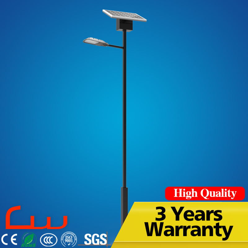 Easy Installation Anti Theft Outdoor Road Lamps Solar LED Street Lamp