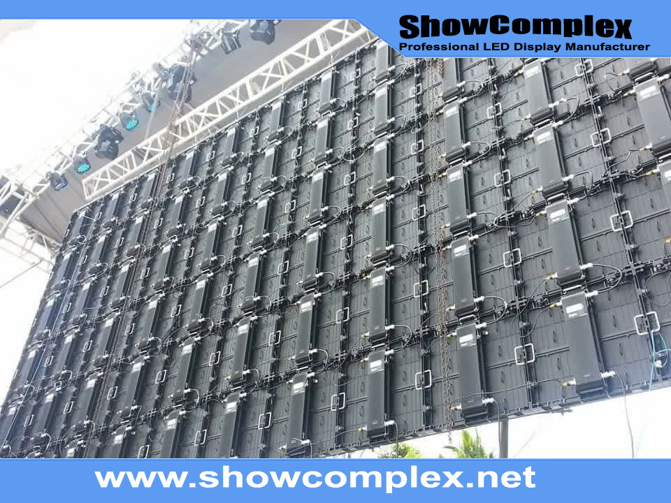 High Brightness of Outdoor Full Color Rental LED Video Display for Stage (P8)