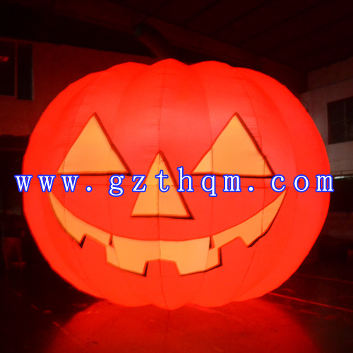 Halloween Decoration Inflatable Balloons/LED Lighting PVC Balloon for Halloween