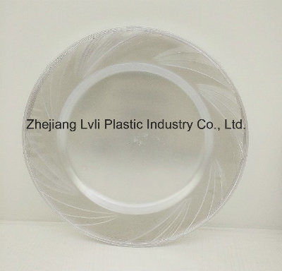 Plastic Plate, Disposable, Tableware, Tray, Dish, SGS, Pb-04