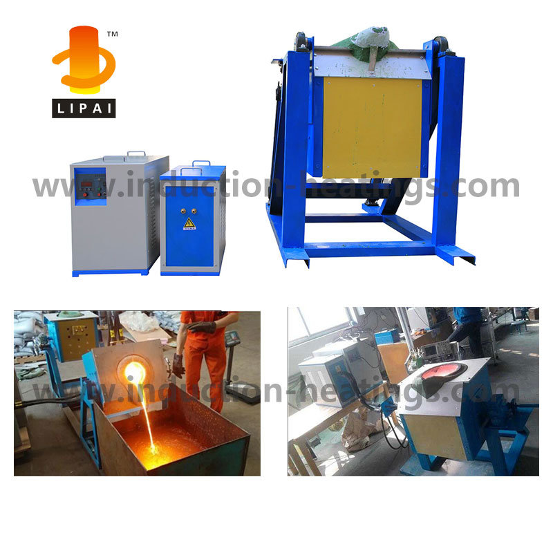 Medium Frequency Induction Melting Furnace for Steel Copper Gold