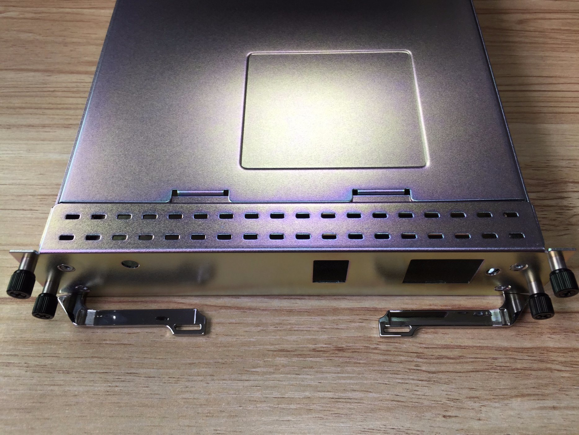 Blue Zinc Coated Metal Stamping Chassis