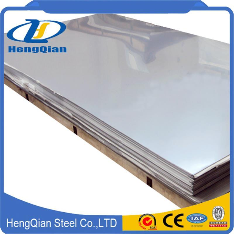 ASTM A240 Duplex 201 304 316L 310S 321 430 2b Ba No. 4 Finish Stainless Steel Sheet