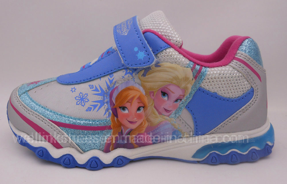 Girls Sports Shoe with Light
