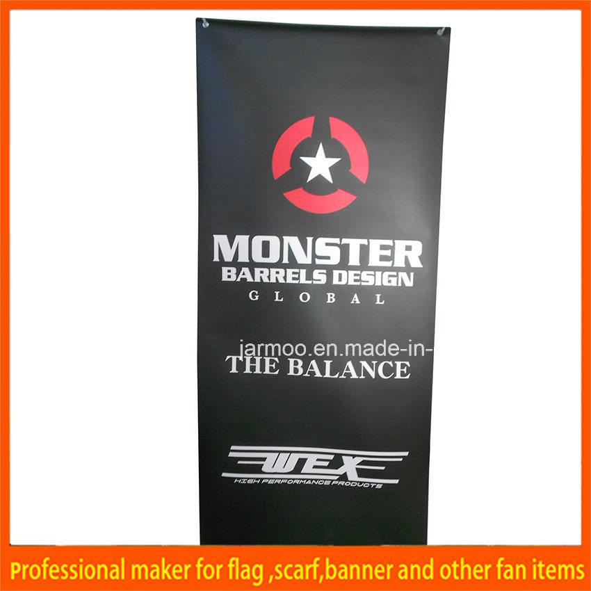 Custom Indoor Trade Show Advertising Circular Tension Ceiling Hanging Banner