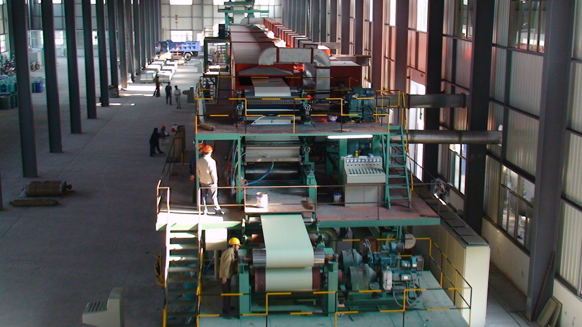 Galvanized Steel Plate Color Coating Production Line