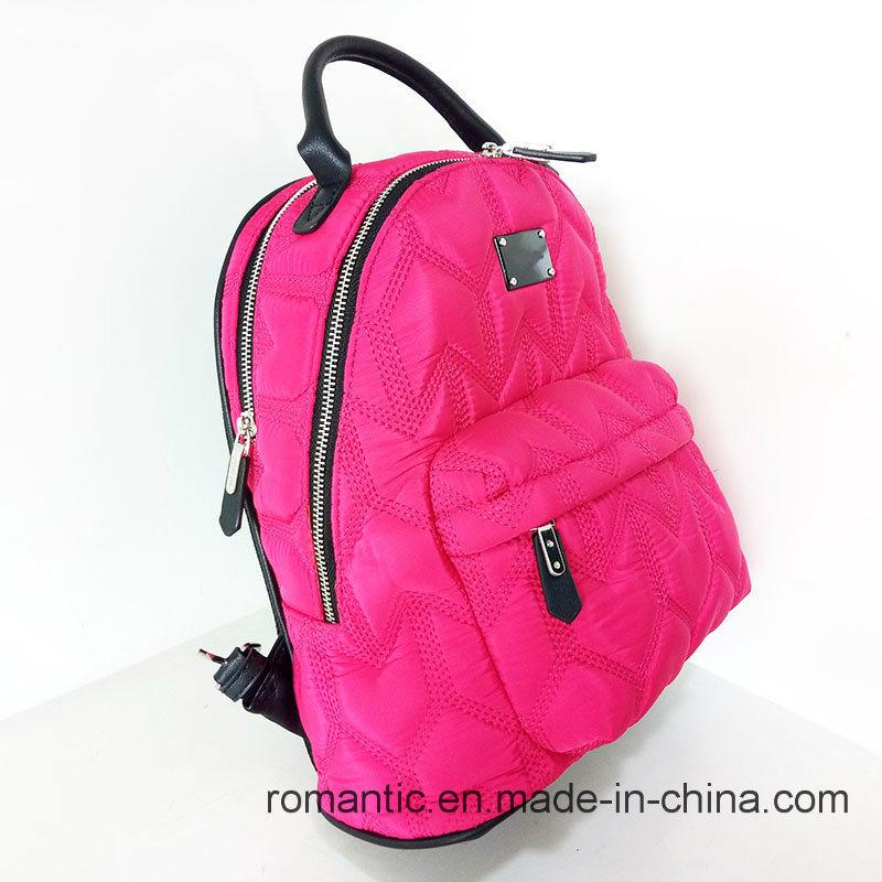 Brand Designer Lady Nylon Backpack Women Traveling Bag (NMDK-040602)