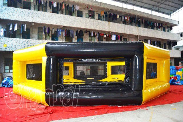 a Last Man Standing Rotating Inflatable Wipeout Eliminator (chsp374)