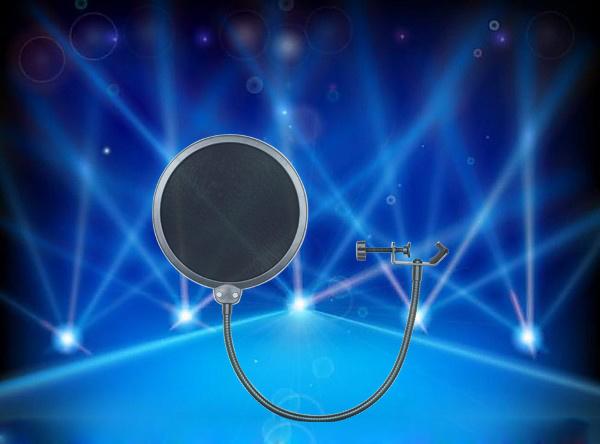 Bop Net The Microphone Wind Cap Recording The Saliva Shields