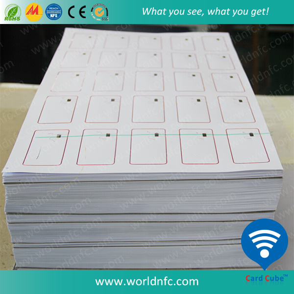 Best Selling PVC Hf S50 RFID Smart Card Inlay