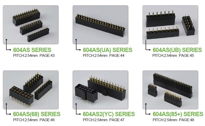 Electronic Connectors China Local Brand Angecy for Our Final Product Assembly