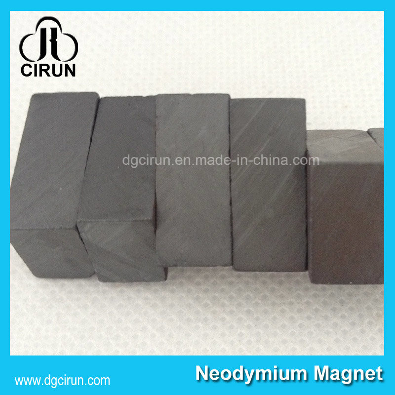 Industrial Use Black Hard Large Block Bar Ferrite Magnet