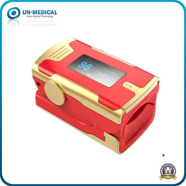 New Arrival-Fingertip Pulse Oximeter (white yellow)