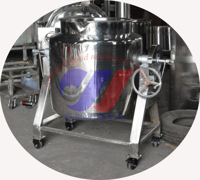 Two-Layer Storage Tank with Moving Wheel