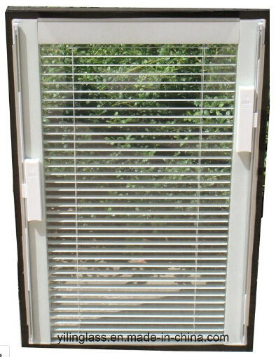 Double Glazed Venetian Blinds with Magnetic Operation System