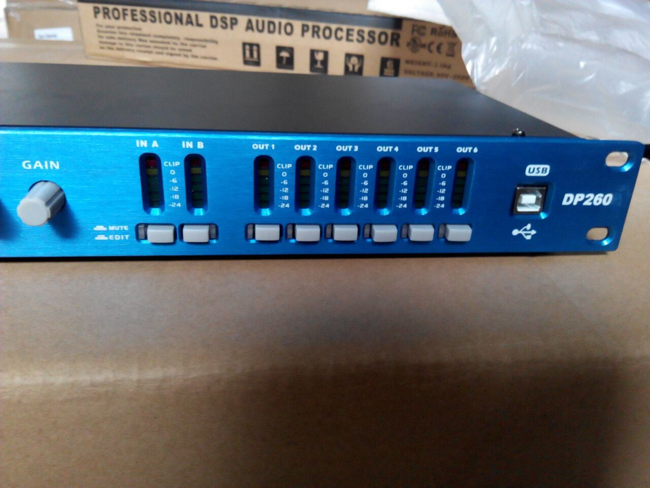 Professional Stage Audio Processor