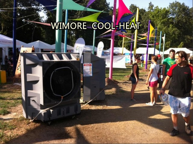 Portable Swamp Cooler Cooling Fan Evaporative Cooler