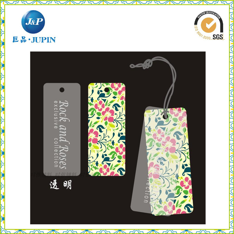 Wholesales Customized Logo Design Hang Tag with String (JP-HT072)