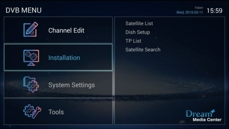 Full HD 1080P Android TV Box DVB S2 Ott