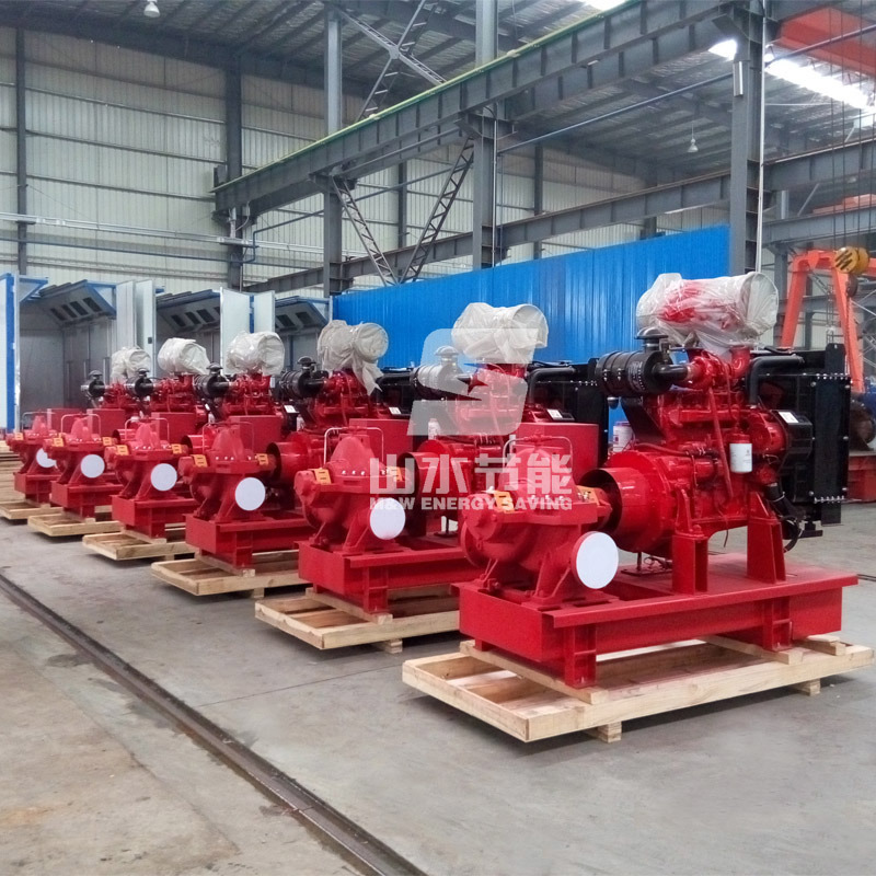 Fire Pump 500gpm 120-160m (XSF80-360)