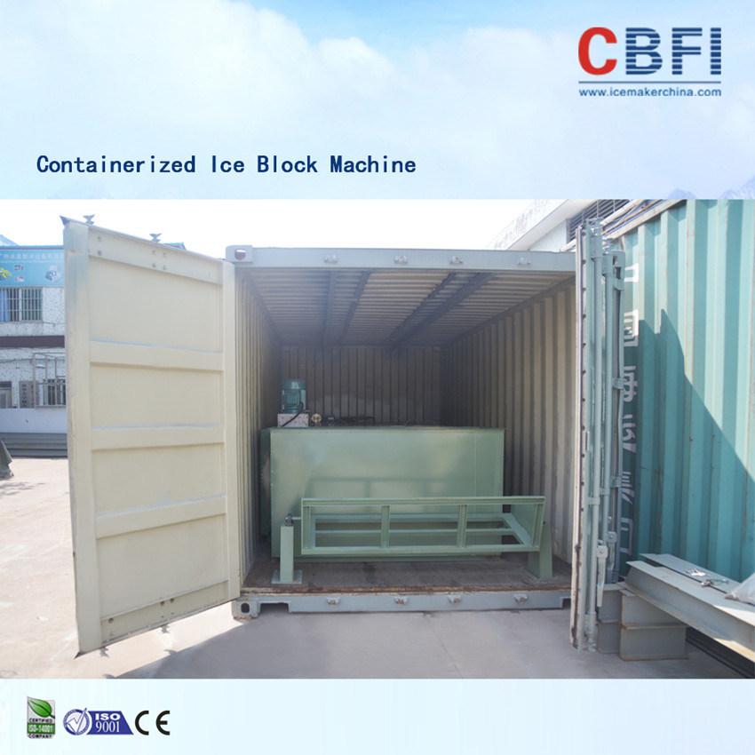 Cbfi Denmark Danfoss Expansion Valve Containerized Ice Block
