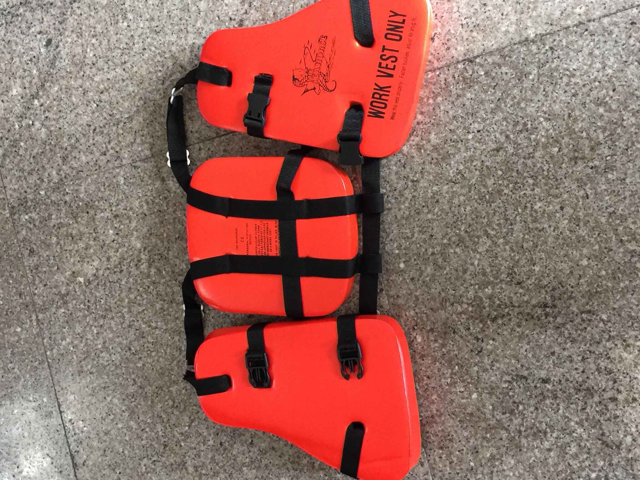 Three Pieces Lifejackets with Certification / Foam Jacket
