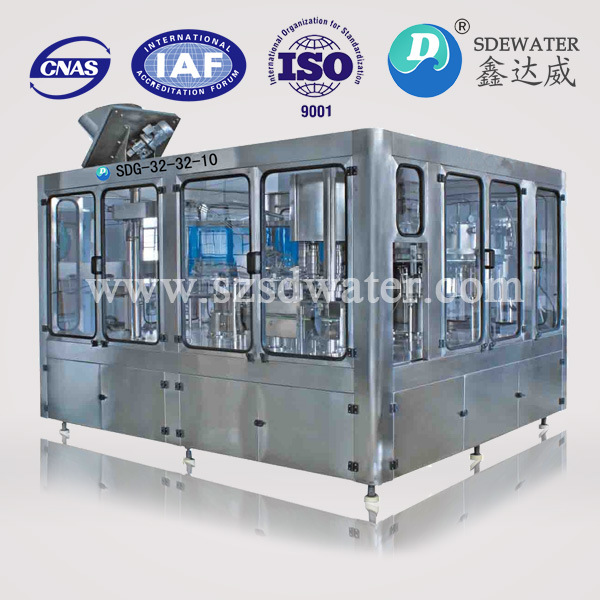 8000b/h 500ml Plastic Bottle Liquid Filling Machine