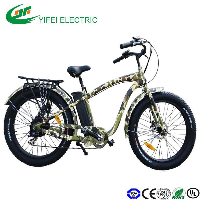 High Power Fat Tire 500W Electric Fat Snow Beach Bike Electric Bike