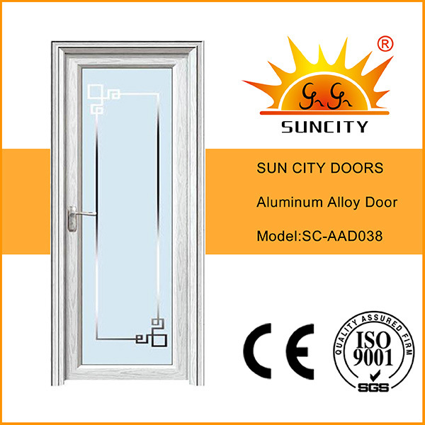 Economic New Design Single Waterproof Aluminum Doors (SC-AAD038)