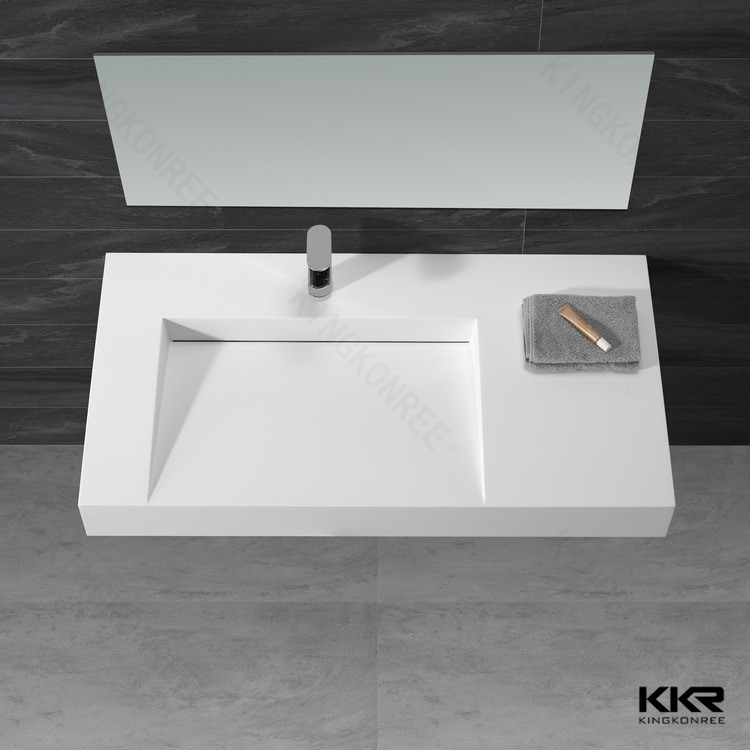 Artificial Stone Solid Surface Bathroom Sink
