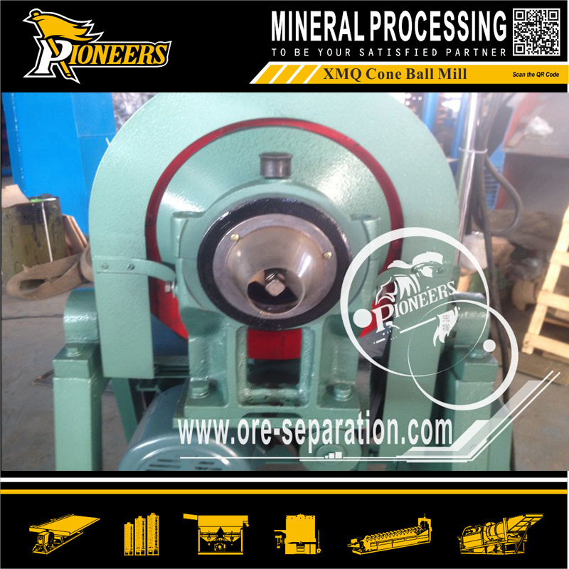 Xmq Cone Ball Milling Machine Laboratory Small Ore Grinding Miller