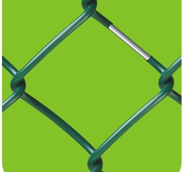 75*75mm PVC Coated Chain Link Fence Galvanized/PVC Coated Best Price High Quality