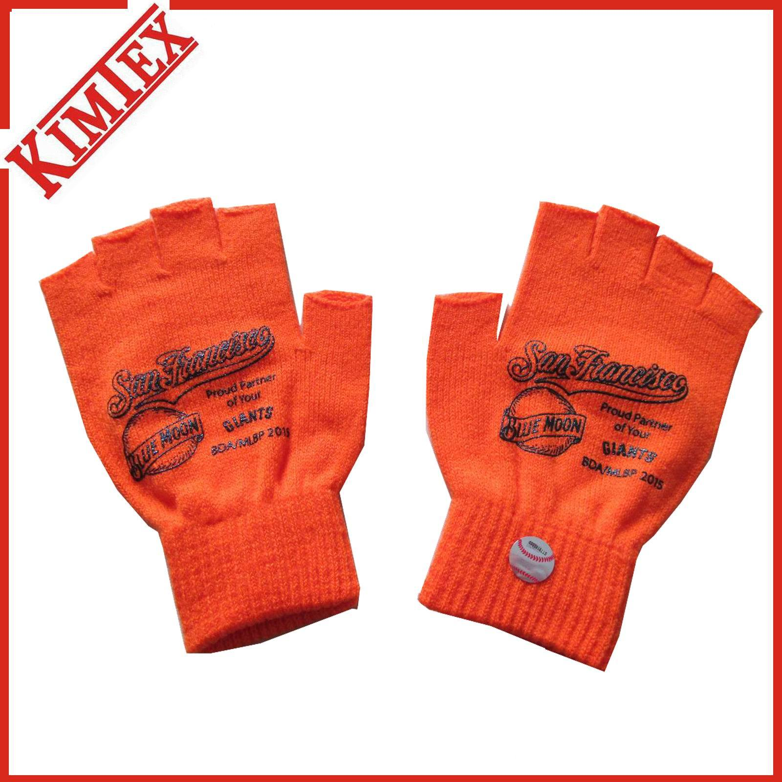 Customized Winter Knitted Acrylic Magic Texting Screen Touch Glove