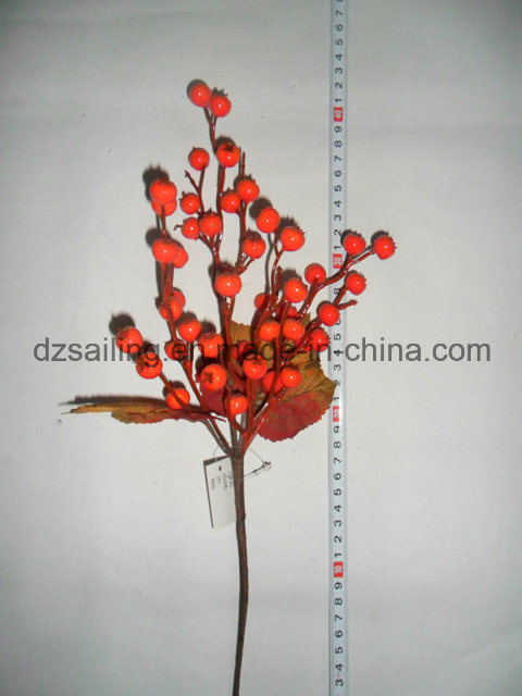 Autumn Coloration Berry Artificial Flower for Home Decoration (SHL15-G010)
