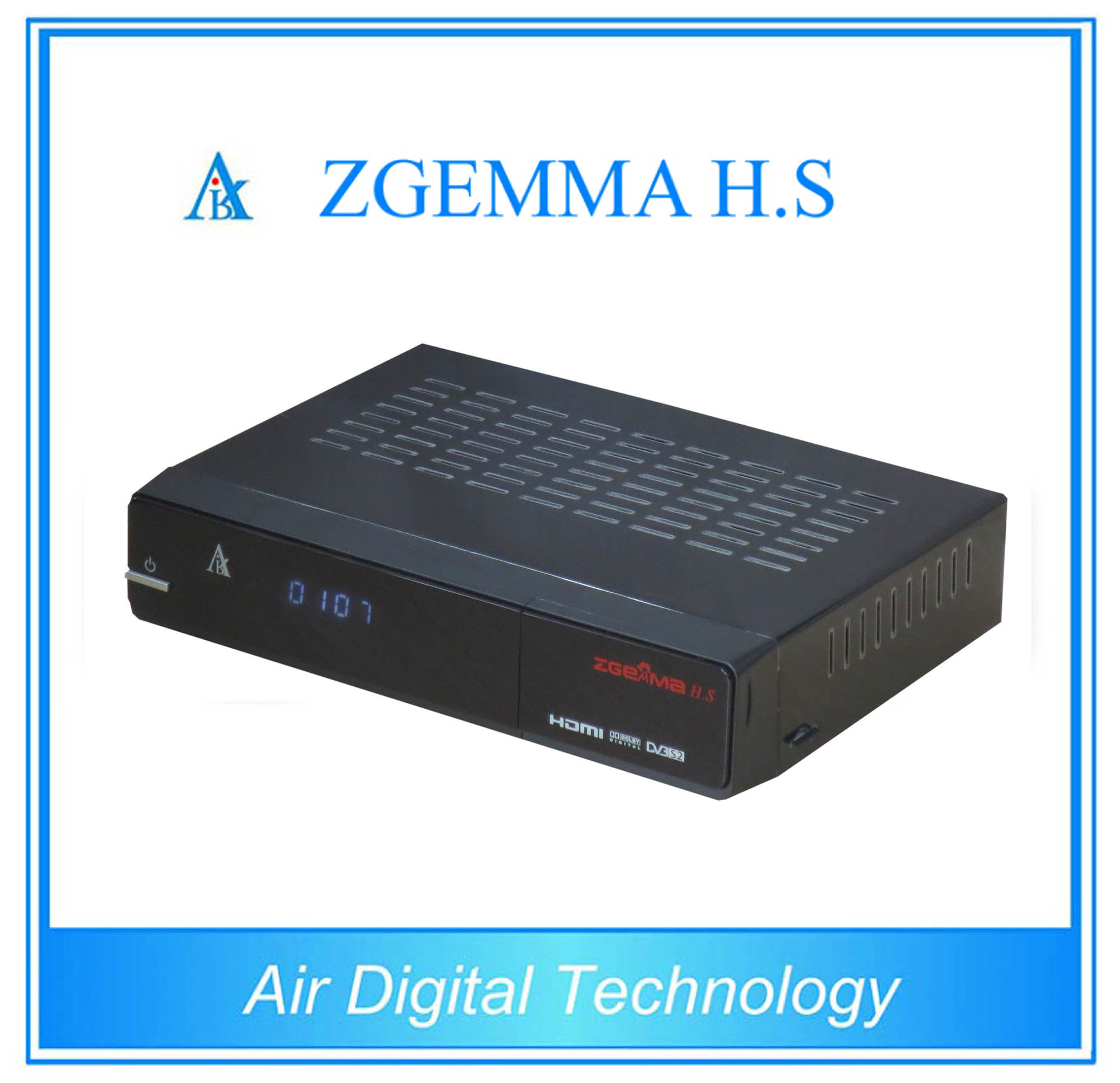 2016 New Satellite TV Decoder DVB S/S2 with Dual Core CPU Zgemma H. S