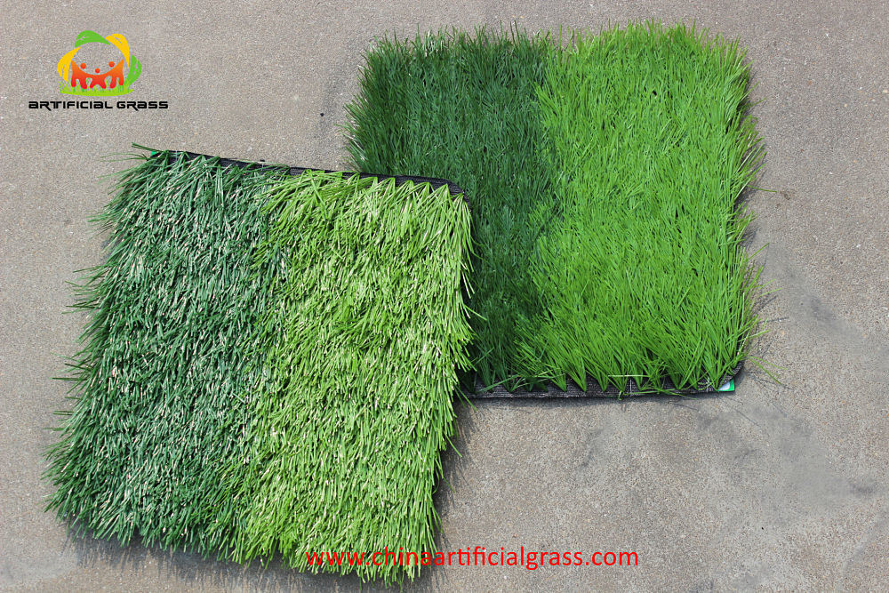 Comfortable Artificial Turf for Soccer Two Tones