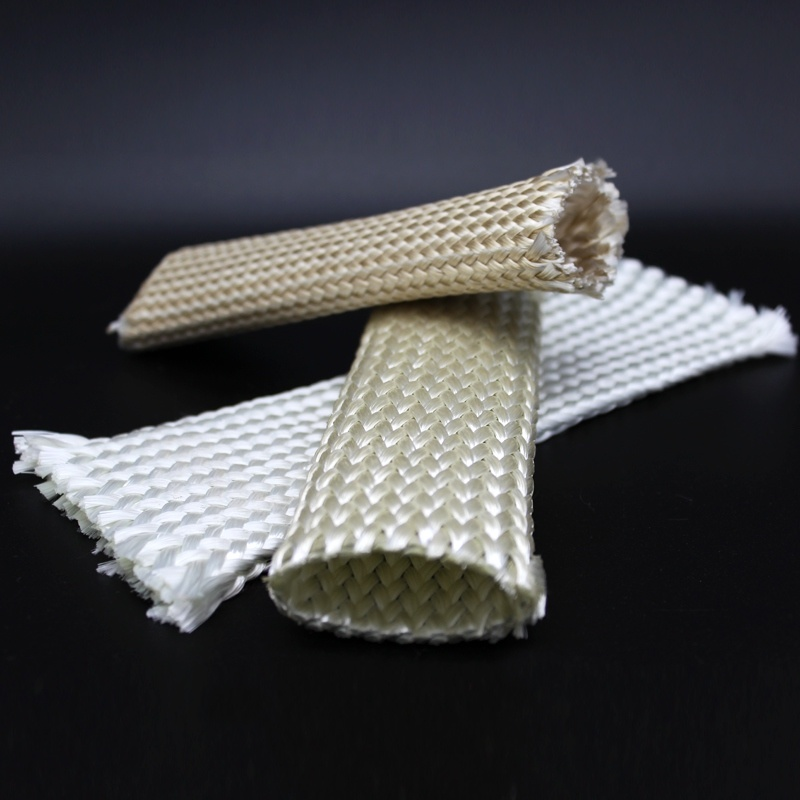 Heavy Wall Braided Glass Fiber Sleeve
