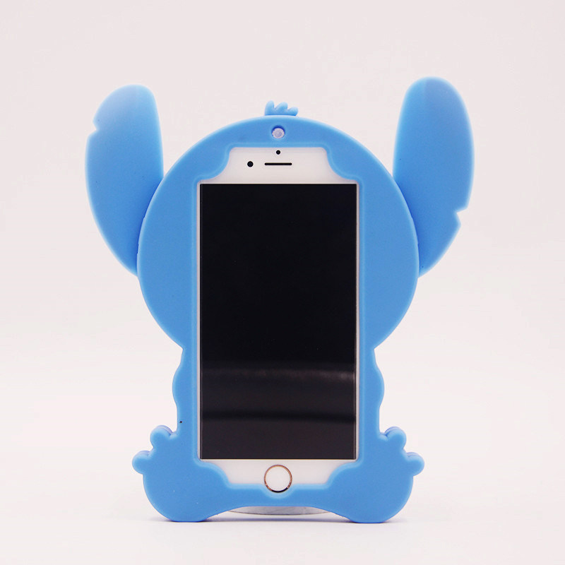 3D Silicone Phone Case Stitch Cell Phone Accessories for Huawei P8 P9 (XSDW-078)
