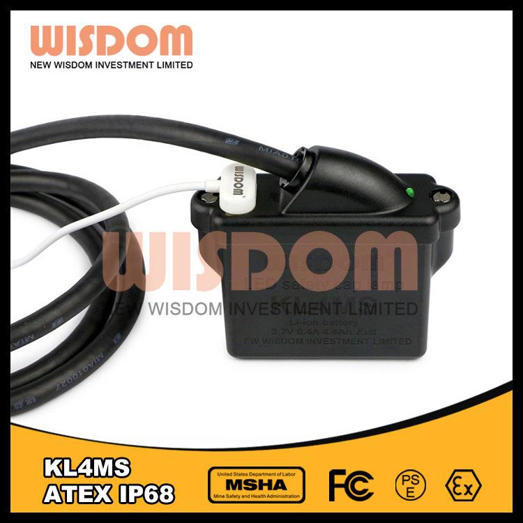 Wisdom Atex Approved Miners Cap Lamp/ Kl4ms Mining Headlamp