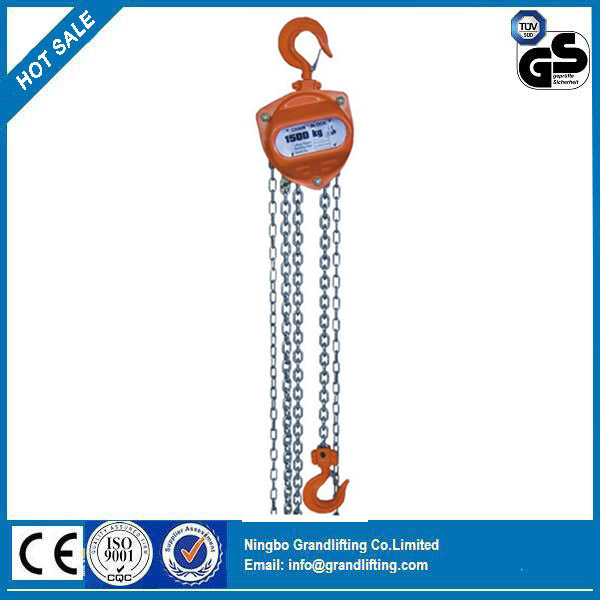 Zhc-a Hand Chain Vertical Hoist, Manual Block, Chain Hoist