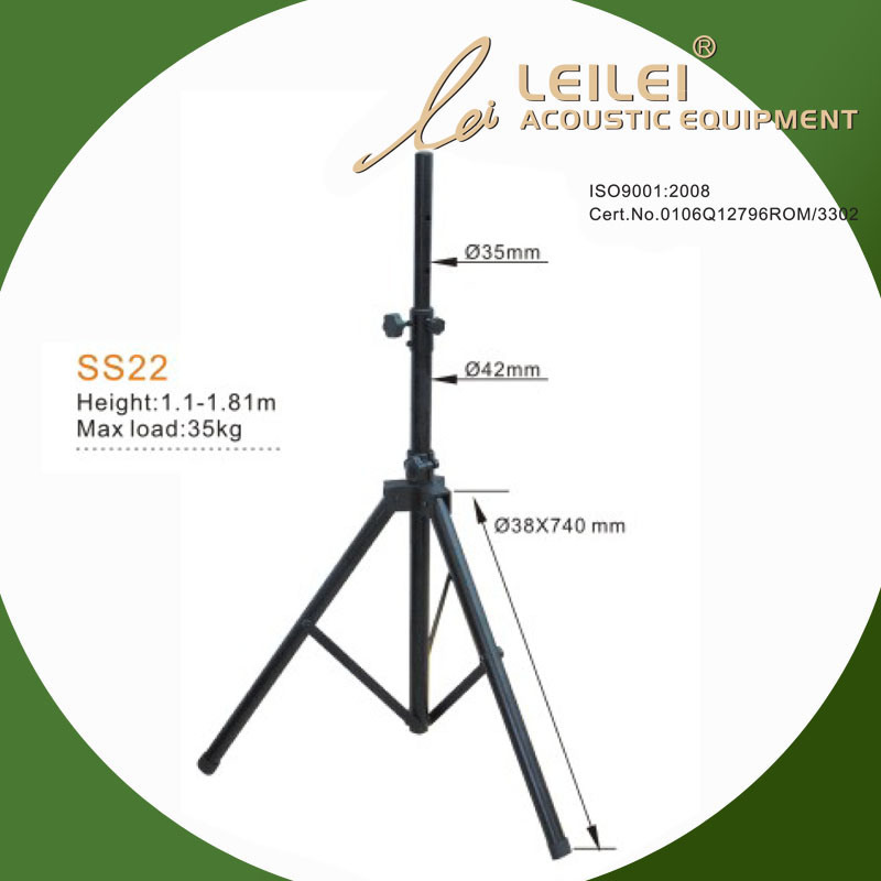 Adjustable Speaker Base Floor Stand (SS22)