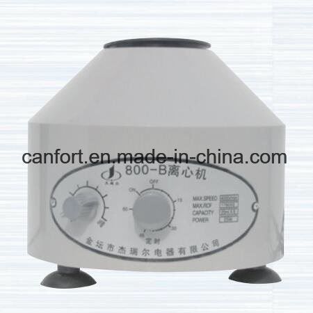 Lab Equipment Low Speed Mini Centrifuge 800B with Timer Made in China