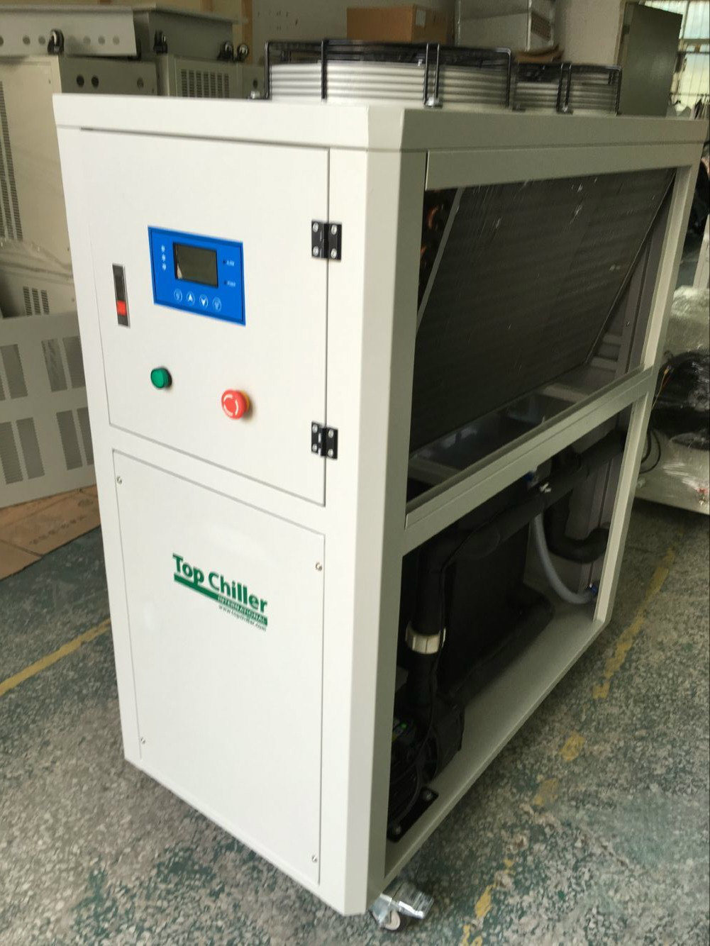 29kw/54kw Air Cooled Industrial Chiller for Anodizing and Electroplating
